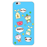 Ốp lưng dẻo cho điện thoại Oppo F3 Plus _0514 HAPPY02 - Hàng Chính Hãng thumbnail