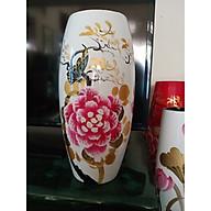 Bình hoa gốm sứ Bát Tràng thumbnail