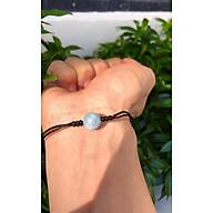 Vòng đá Aquamarine tự nhiên Natural Aquamarine đan dây đan thumbnail