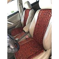 Combo 2 khoác ghế ô tô hạt gỗ nhãn hình cây đàn loại hạt 12ly - Khoác vai ghế ô tô hạt gỗ cao cấp - Đệm ghế ô tô gỗ nhãn - Nệm ghế mùa hè thumbnail