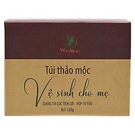 Thảo Dược Xông Vùng Kín Cho Mẹ Bầu Và Sau Sinh (10 túi 10 lần xông) Wonmom thumbnail