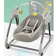Nôi điện tự động ru ngủ cho bé , Giường cũi , Võng điện trẻ em từ 1 tháng tuổi thumbnail