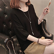 Áo len mỏng nữ tay lỡ điệu đà ArcticHunter, thời trang trẻ, phong cách Hàn thumbnail