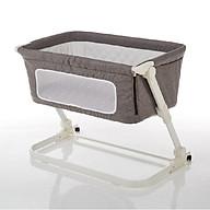 Nôi cũi ghép chung giường bố mẹ, có thể gập gọn và nâng hạ độ cao Mastela PL506 - tiêu chuẩn ASTM Mỹ thumbnail