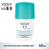 Lăn Khử Mùi Vichy Ngăn Mồ Hôi Giữ Khô Thoáng Suốt 48h Traitement Anti- Transpirant 50ml thumbnail
