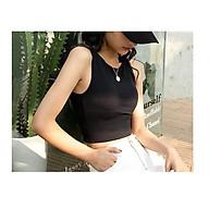 Áo bra crotop 3 lỗ dáng thể thao, có đệm ngực, trẻ trung, năng động thumbnail