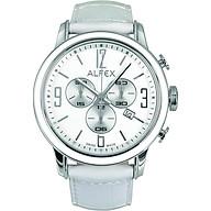 Đồng Hồ Nữ Alfex 5698 848 Chronograph Kính Sapphire Lịch Ngày 45mm thumbnail