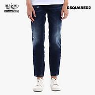 DSQUARED2 - Quần jeans nữ ống suông denim Cool Girl S72LB0102-470 thumbnail