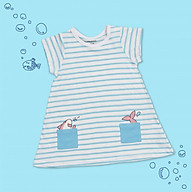 Váy Baby Shark kẻ xanh CHAANG VIETNAM thumbnail