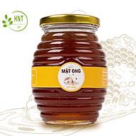 Mật ong nguyên chất HNT 450g, Không đóng đường, 100% tự nhiên hoa nhãn, Không chất bảo quản, Sản phẩm chính hãng, Shop uy tín thumbnail