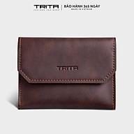 Ví mini TRITA RVN06, 6 ngăn, đựng vừa 3 thẻ card và tiền, phù hợp đi chơi, đi làm, da tổng hợp cao cấp , bảo hành 1 năm thumbnail