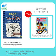 Diary Of A Wimpy Kid 02 Rodrick Rules (Paperback) thumbnail