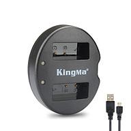 Sạc Kingma LP E8 cho pin máy ảnh Canon 550D, 600D, 650D, 700D...- Hàng chính hãng thumbnail