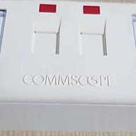 Ổ cắm đôi 2 cổng mạng cat5e AMP Commscope thumbnail