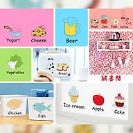 Decal dán tường trang trí phòng bếp, tủ lạnh- Dán tủ lạnh- mã sp DAM7090 thumbnail