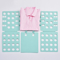 Dụng cụ gấp quần áo siêu nhanh, không để lại nếp nhăn (Màu ngẫu Nhiên) thumbnail