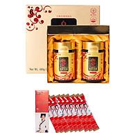 Hộp 2 Hũ Cao Hồng Sâm 6 Năm Sobaek (240g Hũ) + Tặng kèm 1 Hộp 10 Gói Nước Hồng Sâm Jung Gold Stick (15g gói) thumbnail
