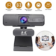 ASHU 1920x1080P High Definition Video Webcam with Double Noise Reduction Mic Autofocus Function Web Cam USB2.0 Charging thumbnail
