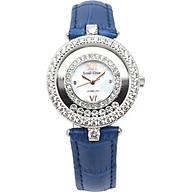 Đồng hồ nữ chính hãng Royal Crown 3628 - dây da xanh thumbnail
