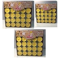 combo 3 hộp, Nến Bơ 100 viên, không mùi không khói đảm bảo nến bơ sạch 100% TPTP1077 thumbnail