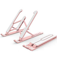 Laptop Tablet Stand 6-level Height Adjustable Folding Portable Office Holder Cooling Bracket for 11-17 Inch Laptop thumbnail