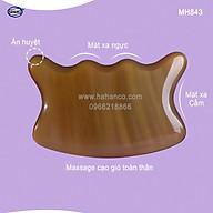 Dụng cụ cạo gió mát xa bằng sừng (MH843) Làm mịn da - nâng cơ và giảm đau toàn thân thumbnail