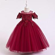 Đầm công chúa dạ hội cao cấp bé gái nhập khẩu, cho bé 10-40kg thumbnail