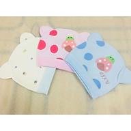 Combo 3 Mũ Che Thóp Cotton Mềm Cho Trẻ Sơ Sinh 0-8 Tháng- Họa Tiết Ngộ Nghĩnh - ( Màu Ngẫu Nhiên ) thumbnail