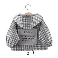 AK23Size80-100 (6-15Kg)Áo khoác kaki cho bé trai gái, Thời trang trẻ Em hàng quảng châu thumbnail