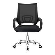 Ghế lưới văn phòng chân xoay 360 độ cao cấp mẫu mới 2020 model B101 màu đen (hàng nhập khẩu) thumbnail