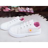 Giày thể thao trẻ em hoa cúc thumbnail