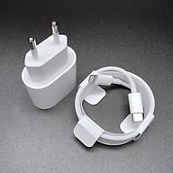 Bộ Củ Cáp Sạc Nhanh 18W Dành Cho iPhone 11Pro - Chuẩn TypeC to Linghtning thumbnail