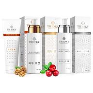 Bộ sản phẩm tắm trắng toàn diện Truesky VIP10 gồm 1 kem ủ trắng toàn thân 100ml & 1 kem body 100ml & 1 tẩy tế bào chết 100ml thumbnail