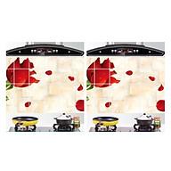 DECAL dán bếp tráng nhôm 60x90cm chống dầu mỡ cách nhiệt thumbnail