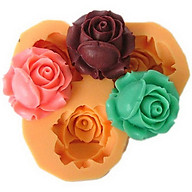 Khuôn rau câu silicon 3 hoa hồng búp thumbnail