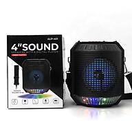 Loa Bluetooth ALP 410 Lanith - Loa Phát Không Dây Kèm Mic Karaoke - Kết Nối Nhanh, Âm Thanh Chất - Thao Tác Các Phím Ngay Trên Loa - Hỗ Trợ Thẻ SD, USB - Tặng Kèm Cáp Sạc 3 Đầu - Hàng Nhập Khẩu - LAP00401-CAP00001 thumbnail