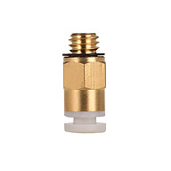 Aibecy PC4-M6 Male Straight Pneumatic Tube Push Fitting Connector Compatible for CR-10 Ender 3 3D Printer Extruder thumbnail