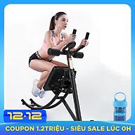 Máy tập bụng - Dụng cụ tập thể dục đa năng - Dụng cụ tập Gym tại nhà - Chất liệu thép chịu lực cao + Tặng kèm khăn lạnh thể thao cao cấp thumbnail