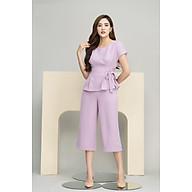 Sét bộ công sở áo pelum quần ống sớ SEFA SFAQ191055 thumbnail