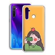 Ốp lưng dẻo cho điện thoại Realme 5 Pro - 01233 7899 GIRL01 - in hình chibi dễ thương - Hàng Chính Hãng thumbnail