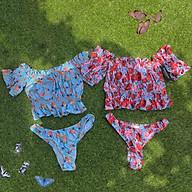 bikini kín đáo hoạ tiết hoa( Emma) thumbnail