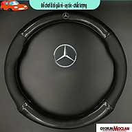 Bọc vô lăng, bo c da vô lăng carbon dành cho Mercedes thumbnail
