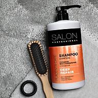 Dầu gội Salon Professional phục hồi chuyển sâu cho tóc hư tổn 1000ml thumbnail