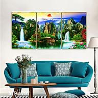Bộ tranh phòng khách 3 tấm - sơn thủy hữu tình 1797L10 thumbnail