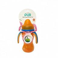 Cốc (bình) tập uống Pur 250ml có quai nhập khẩu Thailand cho bé (đa màu) thumbnail