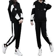 Bộ Quần áo thu đông nam nữ mã TT38 dáng thể dục thể thao hàn quốc đẹp bao gồm áo khoác hoodie và quần jogger thumbnail