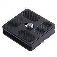 Đế kim loại gắn chân máy ảnh tripod quick plate PU-40 QZSD - Hàng nhập khẩu thumbnail