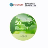 Phấn Nước Làm Mát Tự Nhiên The Saem Jeju Fresh Aloe Cooling Cushion Natural Beige_I (12g) thumbnail