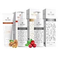 Bộ sản phẩm tắm trắng toàn diện cao cấp Truesky VIP12 gồm 1 kem ủ trắng toàn thân 200ml & 1 kem body 200ml & 1 tẩy tế bào chết 100ml thumbnail