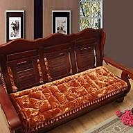 Bộ thảm trải ghế ngồi nhung hoa siêu đẹp thumbnail